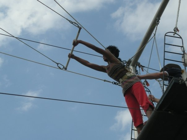 Alex Flying Trapeze